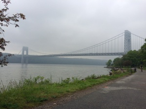 George Washington Bridge, between Manhattan & Ft. Lee, NJ