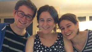 Benjamin, Rebecca, Deena: Backup Pit Crew